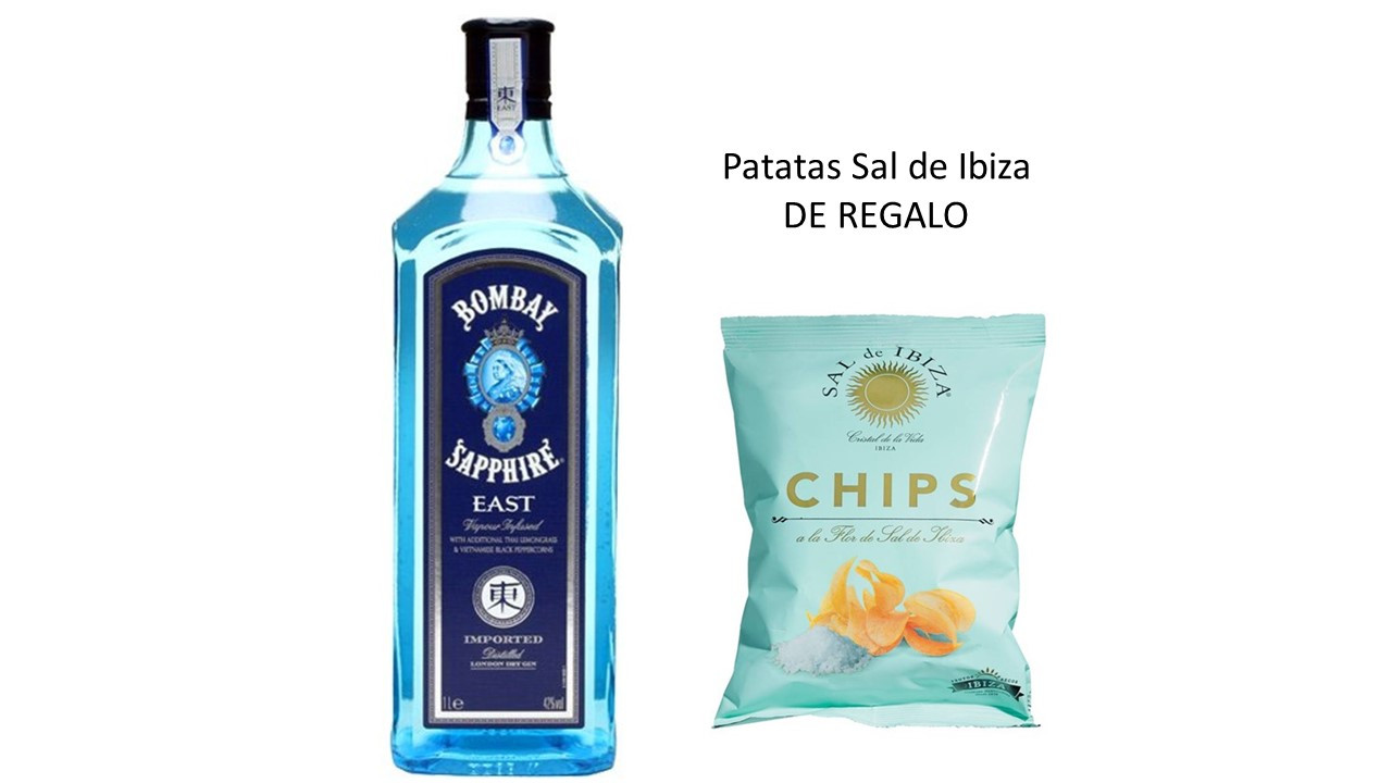 Gin Bombay Sapphire East + regalo