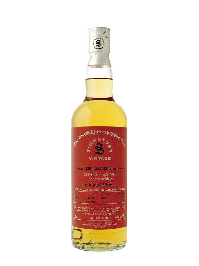 Whisky Craigellachie 2006 First Fill Sherry (46º)