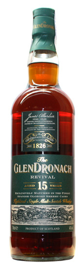 Whisky Glendronach 15 Years Revival (46º)