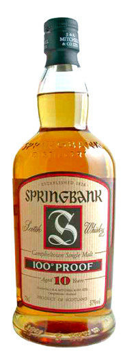 Whisky Springbank 10 Years 100 Proof (57º)