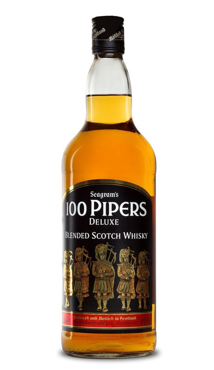 Whisky 100 Pipers de Luxe (40º)